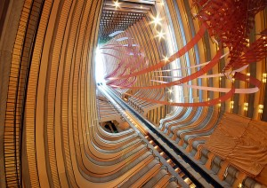 Marriott Marquis Atrium Photo by Ryan Cramer