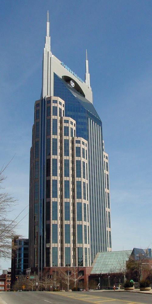 Bellsouth building nashville skyscraper for Build on your land nashville tn