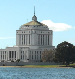 Attributed to wikipedia user Oakland_Skyline_and_Lake_Merritt.jpg