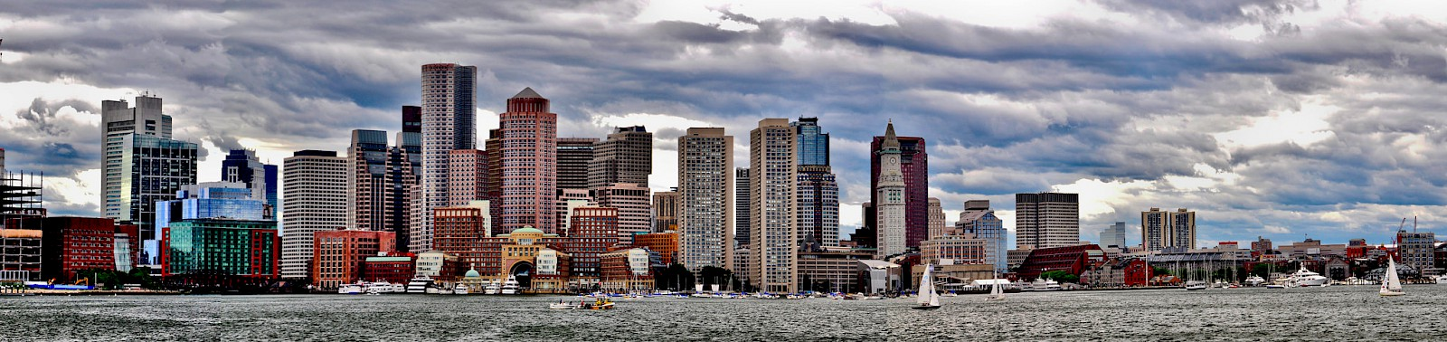 Waterfront, Boston, Massachusetts, Photo by Peter Glenday at [Flickr](https://flic.kr/p/cpb66u)