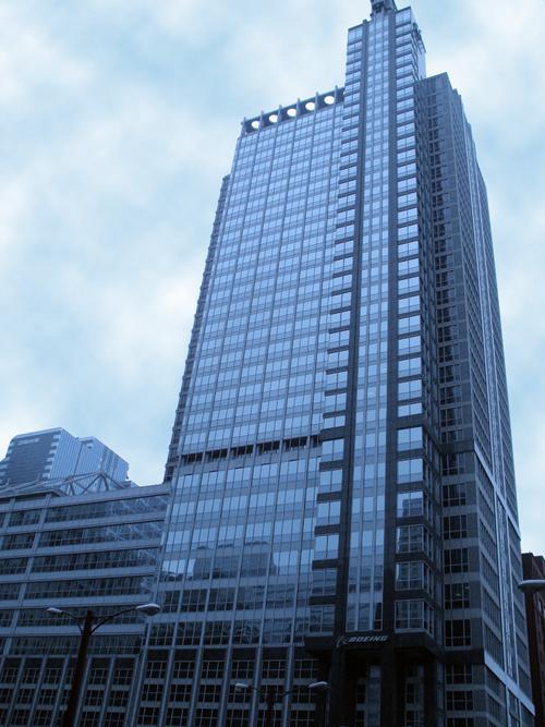 Boeing International Headquarters Chicago Skyscraper