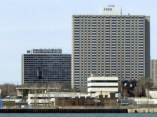 Lafayette Pavillion Apartments, Detroit Skyscraper
