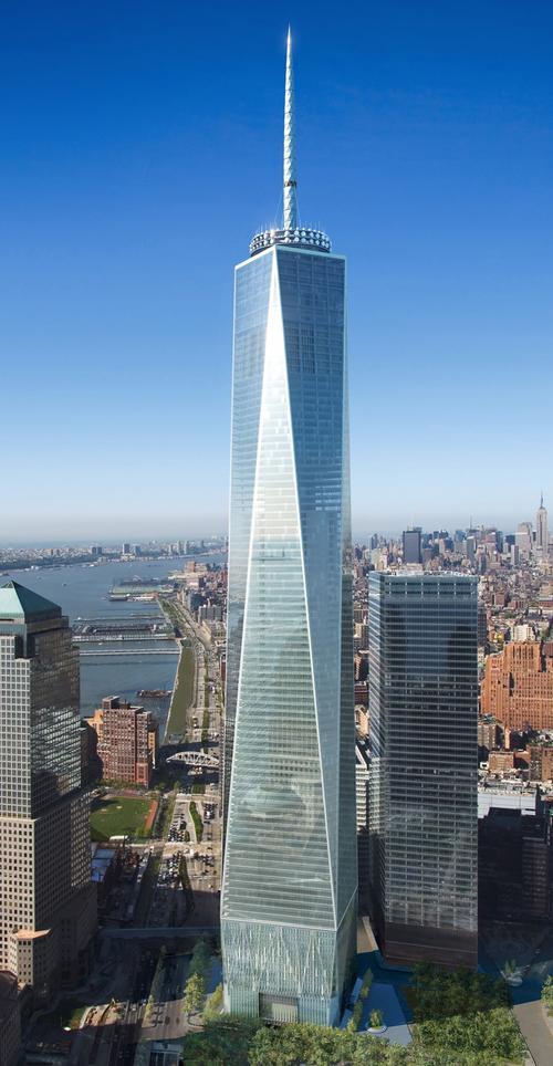 Freedom Tower New York City Skyscraper